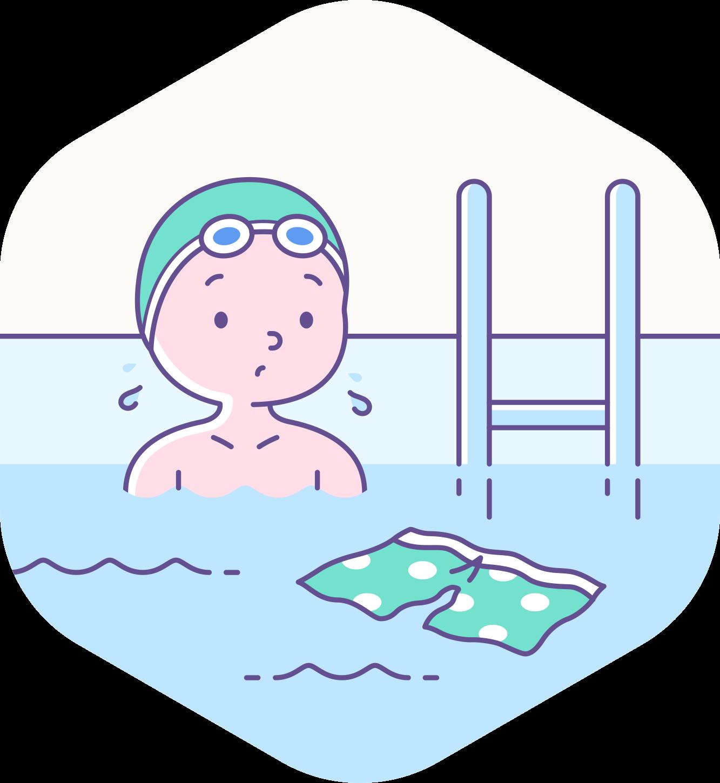 afbeelding van Mijn eerste zwemles