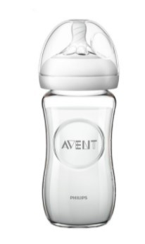 glazen avent fles 240ml 13.95€